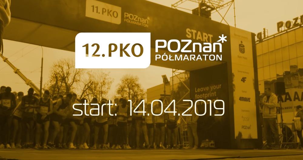 12. PKO Poznań Półmaraton trasa