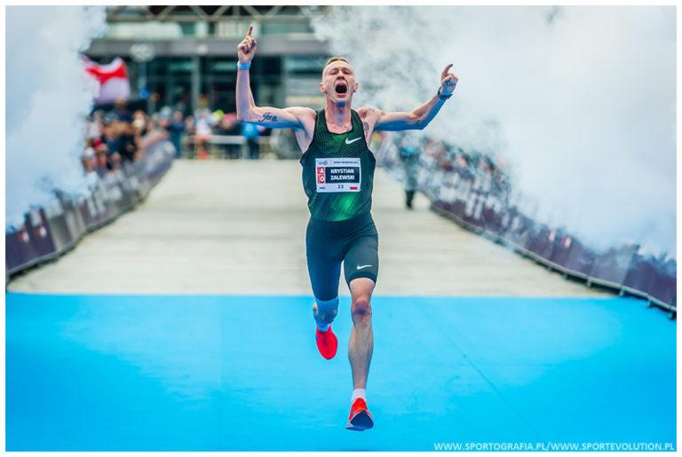 Krystian Zalewski wystartuje w PKO Poznań Półmaratonie