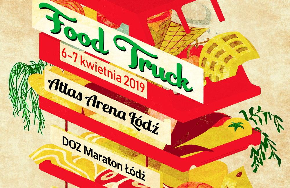 Maraton Łódź 2019 festiwal Food Truck