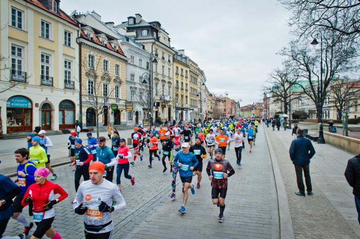 Nagroda dla 100 000 finishera Półmaratonu Warszawskiego