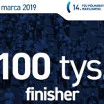 Nagroda dla 100 000 finishera Półmaratonu Warszawskiego?