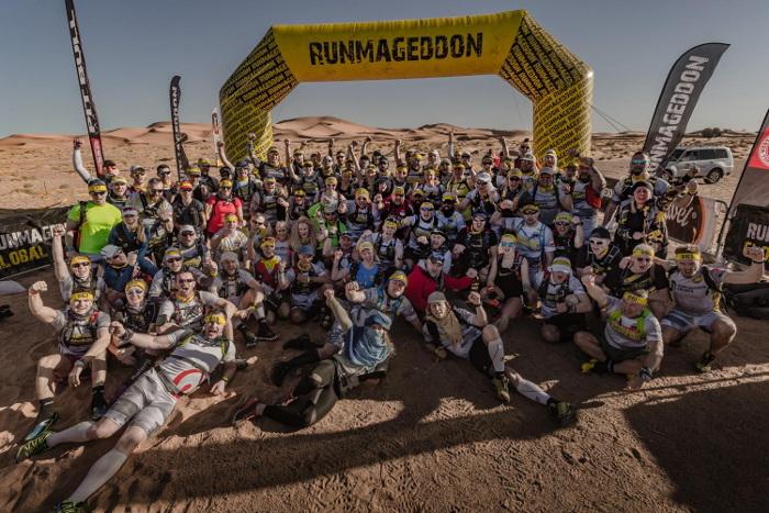 Inspirujący Runmageddon Sahara 2019. Oj działo się