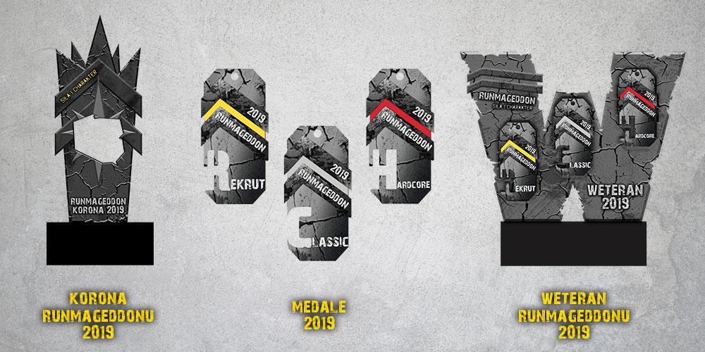 Runmageddon - trofea sezonu 2019