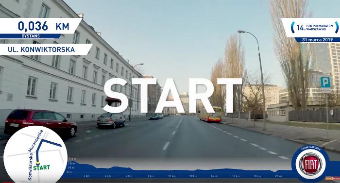 start PZU Półmaraton Warszawski 2019