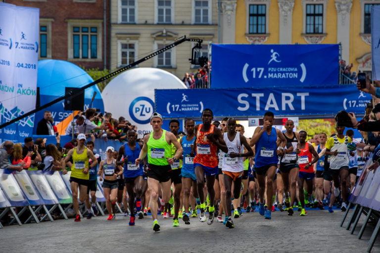 18. PZU Cracovia Maraton: wyniki i transmisja
