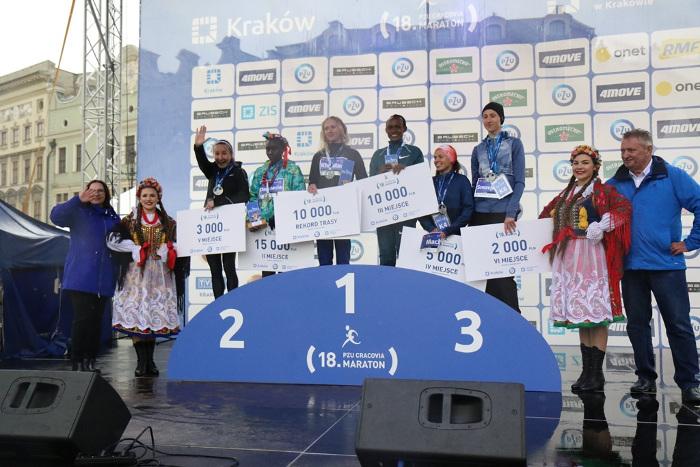 18. PZU Cracovia Maraton! Kotut i Khapilina złamali dotychczasowe rekordy trasy