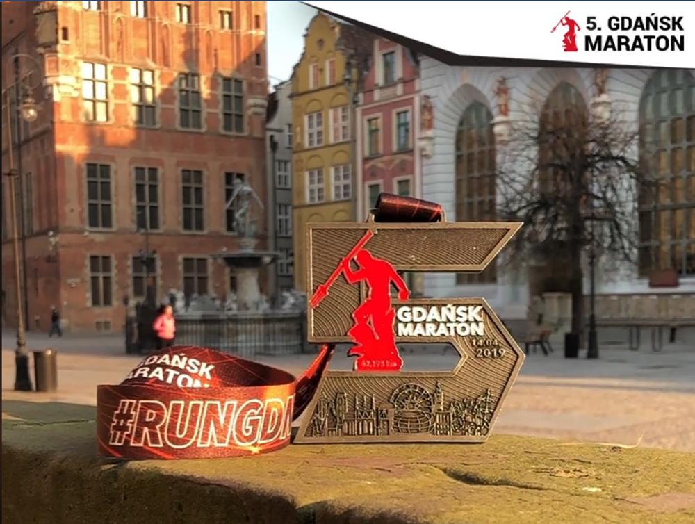 Medal 5. Gdańsk Maraton