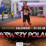 Krystian Zalewski na podium 12. PKO Poznań Półmaratonu! [WYNIKI]