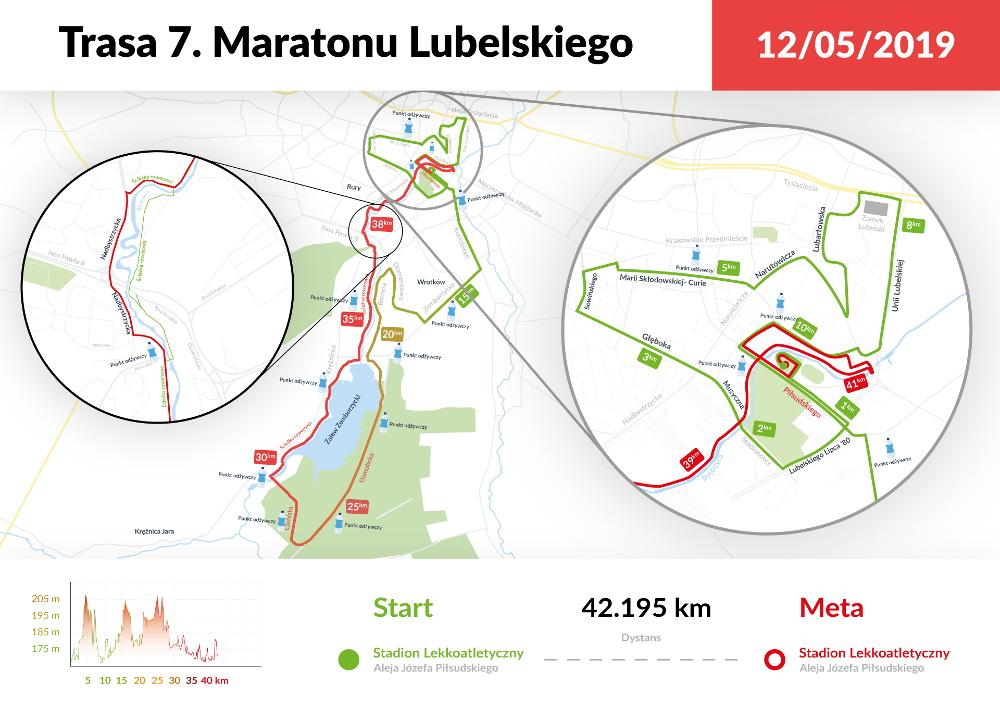 Maraton Lubelski startuje 12 maja 2019 roku