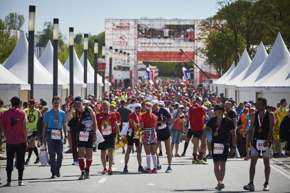 ORLEN Warsaw Marathon 2019 - utrudnienia w ruchu