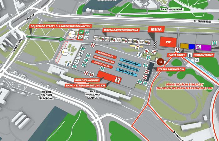 ORLEN Warsaw Marathon 2019 - gdzie odebrać pakiet startowy