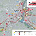 ORLEN Warsaw Marathon 2019 – [UTRUDNIENIA, TRASA]
