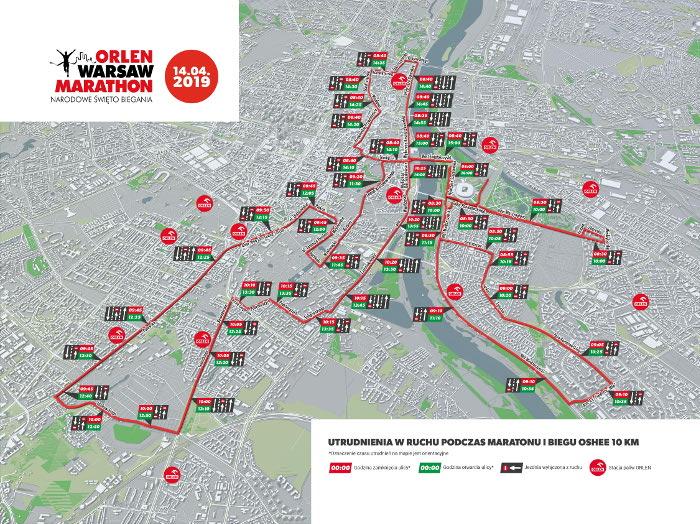 ORLEN Warsaw Marathon 2019 relacja online