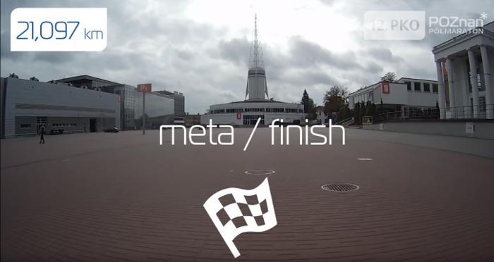 meta PKO Poznań Półmaratonu 2019