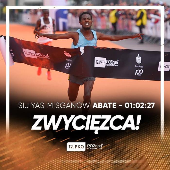 PKO Poznań Półmaraton 2019 wyniki