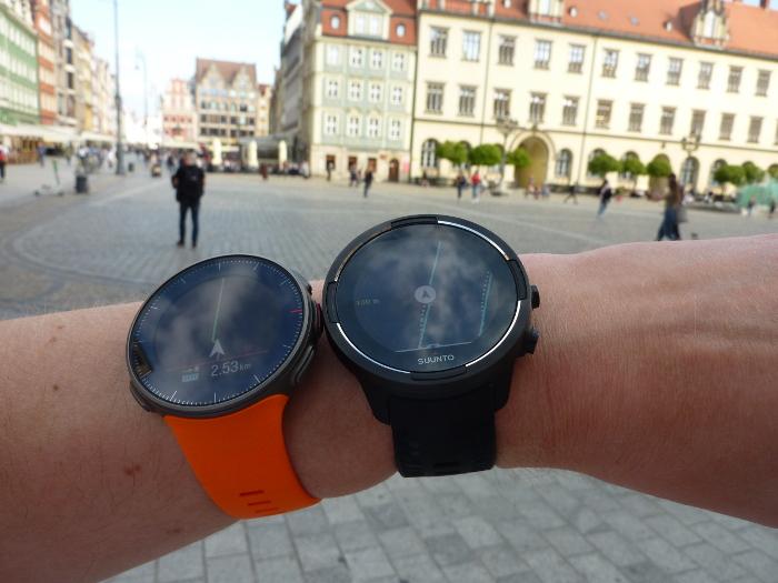 Suunto 9 czy Polar Vantage V - test zegarków