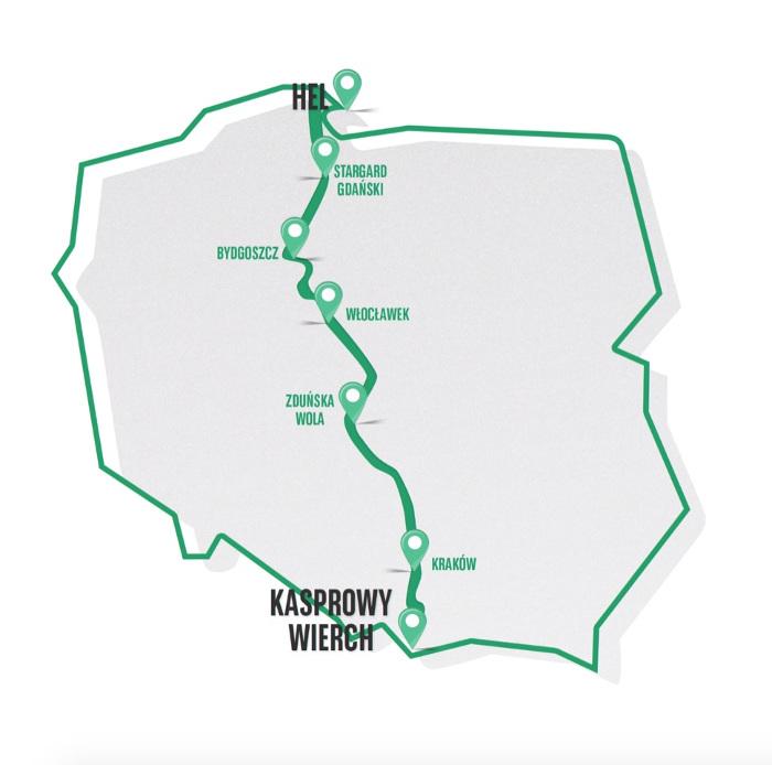 Od Tatr do Bałtyku. Ruszyły zapisy na najdłuższy, charytatywny bieg sztafetowy w Polsce
