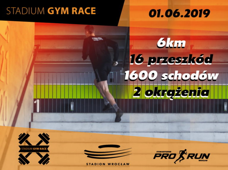 Stadium Gym Race 2019. Stadion Wrocław ugości biegaczy przeszkodowych