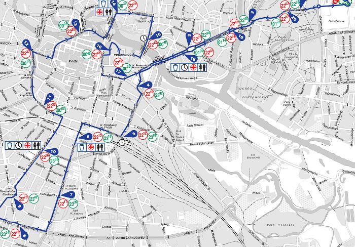 7. PKO Nocny Wrocław Półmaraton - jak wygląda trasa