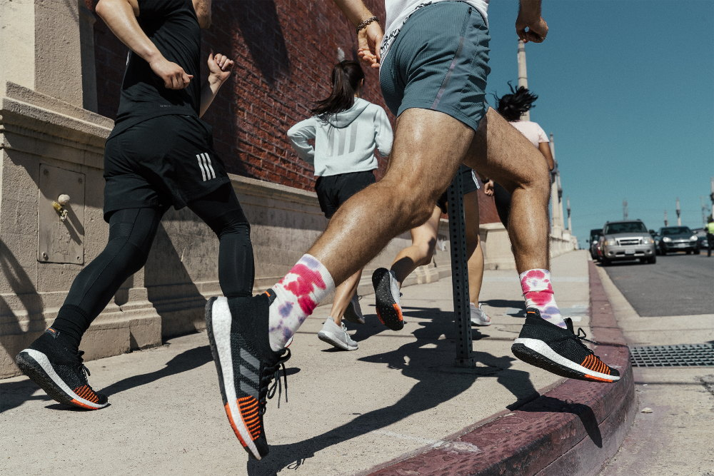 adidas PulseBoost HD. Inspirowane energią miejskich biegaczy