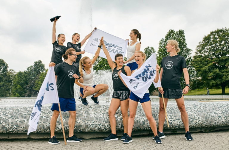 adidas Runners Warsaw w akcji Run For The Oceans