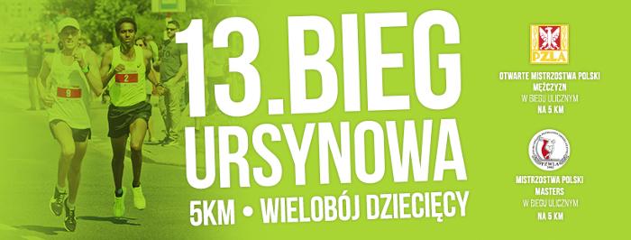 Mistrzostwa Polski Masters podczas Bieg Ursynowa