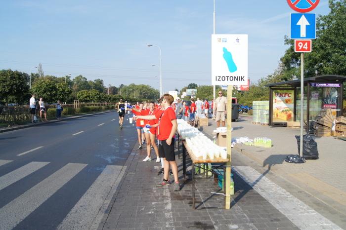 37. PKO Wrocław Maraton. Kranówka i nowe kubeczki dla zawodników