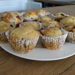 Muffinki pizzerki z chorizo i oliwkami? Smaczna fit przekąska