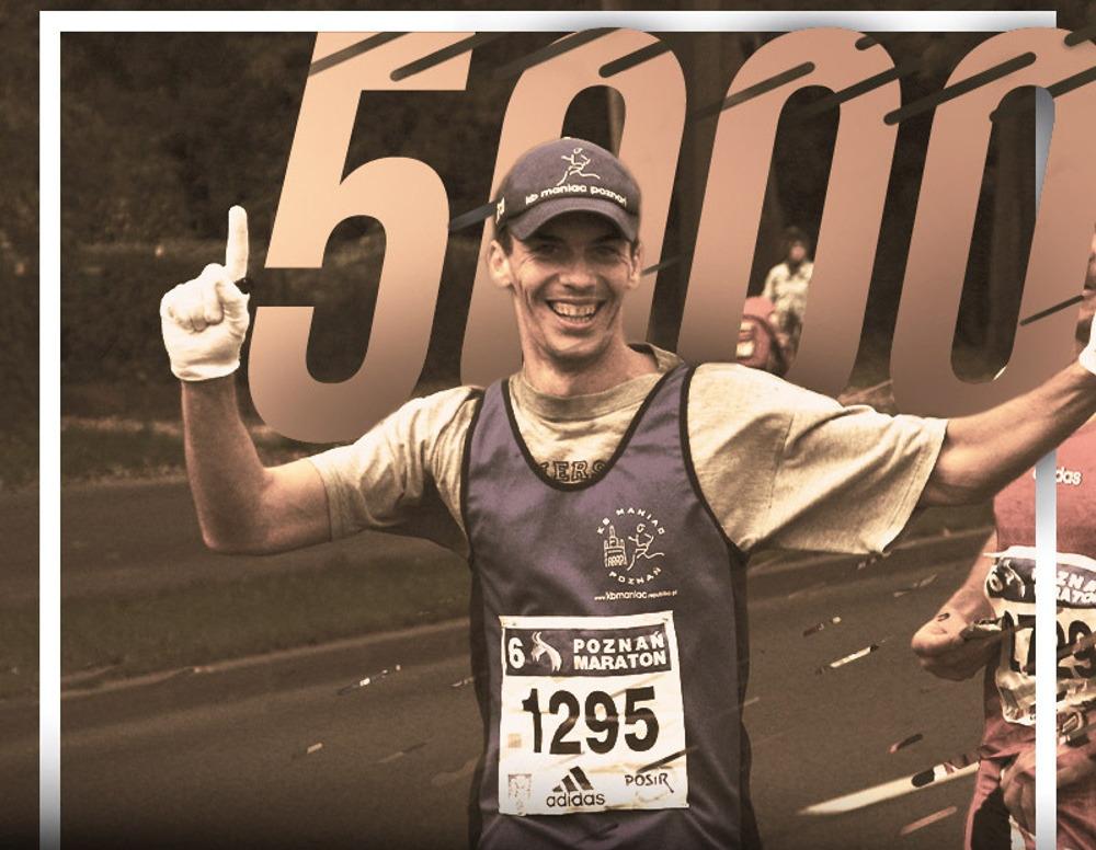 Najsłynniejszy Poznaniak przypomina o jubileuszu Poznań Maraton
