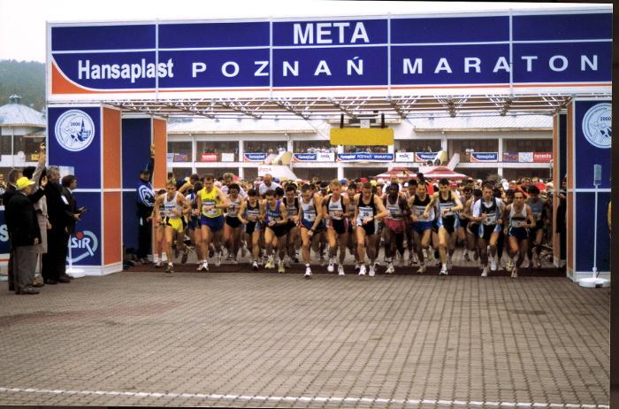Poznań Maraton rok 2000