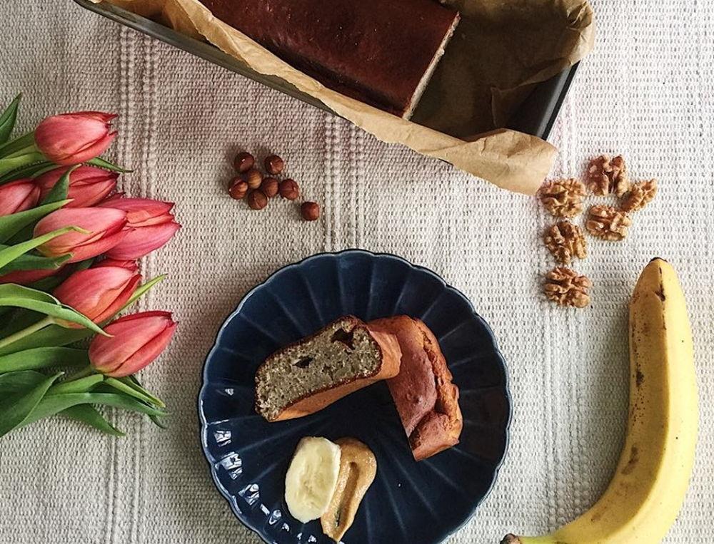 przepis na chleb bananowy