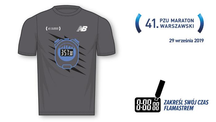 41. PZU Maraton Warszawski koszulka