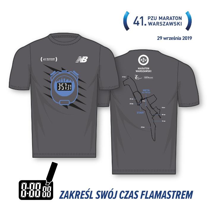 41. PZU Maraton Warszawski ubierze biegaczy w szarość