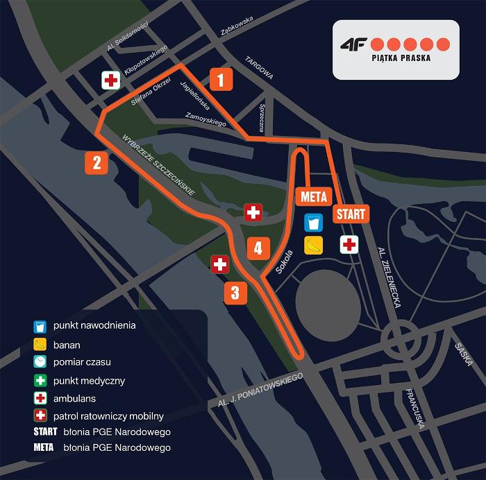 Półmaraton Praski - wybierasz półmaraton czy bieg na 5 km