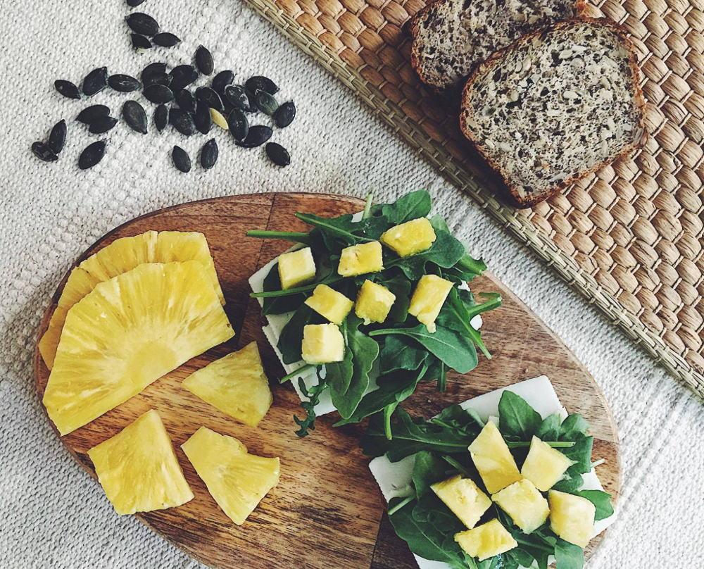 Śniadanie dla biegacza w formie kanapek