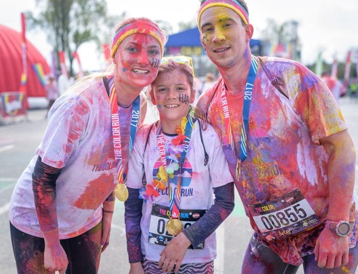Trasa The Color Run HERO Tour Wrocław