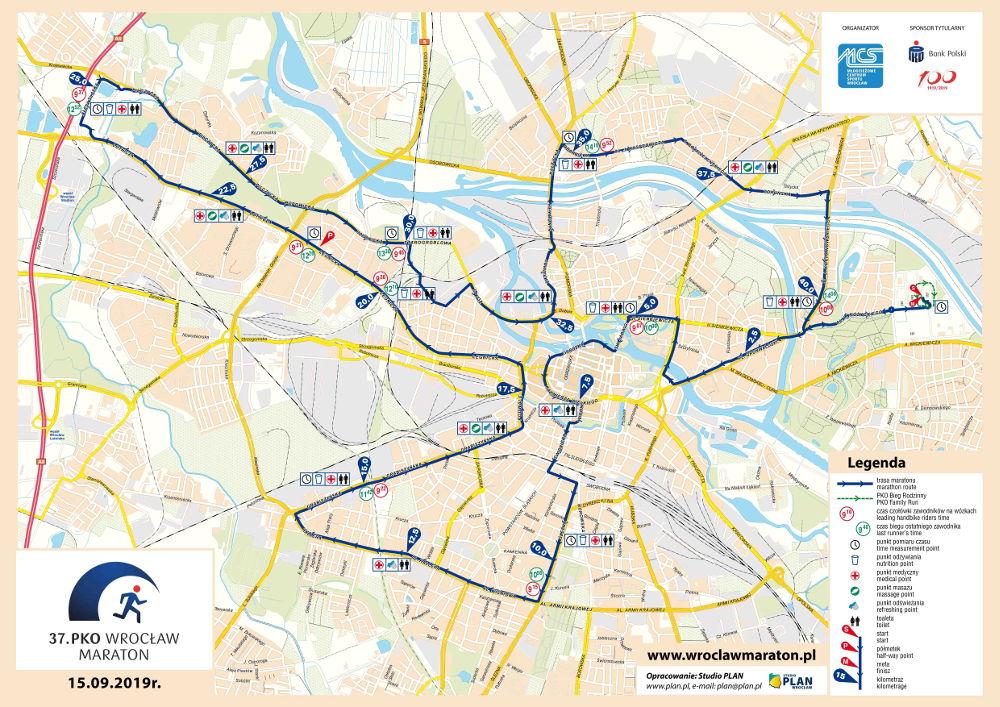 Wrocławianie czekają na 37. PKO Wrocław Maraton [TRASA]
