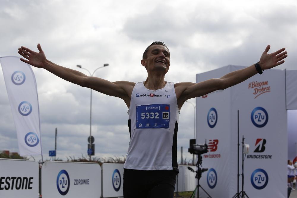 41. PZU Maraton Warszawski wygrał Dariusz Nożyński