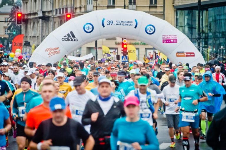 41. PZU Maraton Warszawski tegoroczna trasa