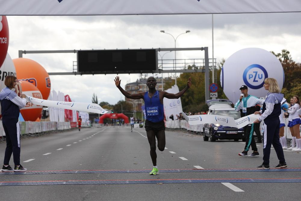 41. PZU Maraton Warszawski wygrał Etiopczyk