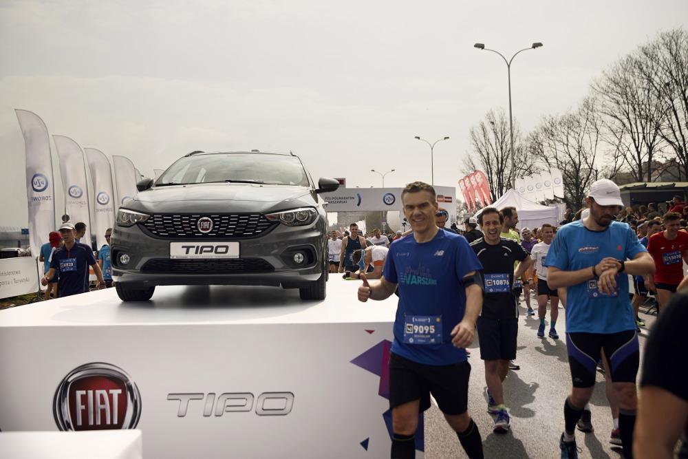 Fiat Tipo główna nagroda w 41. PZU Maraton Warszawski
