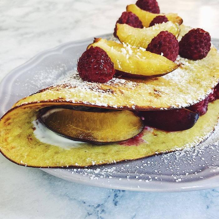 Bananowy omlet przepis
