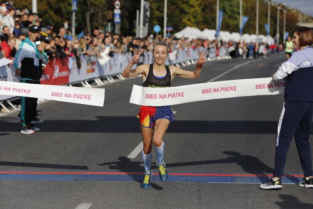 Bieg na Piątkę wygrała Ewa Jagielska