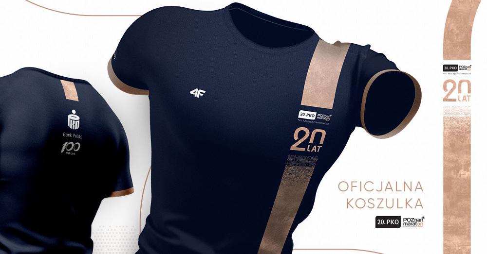 koszulka Poznań Maraton 2019
