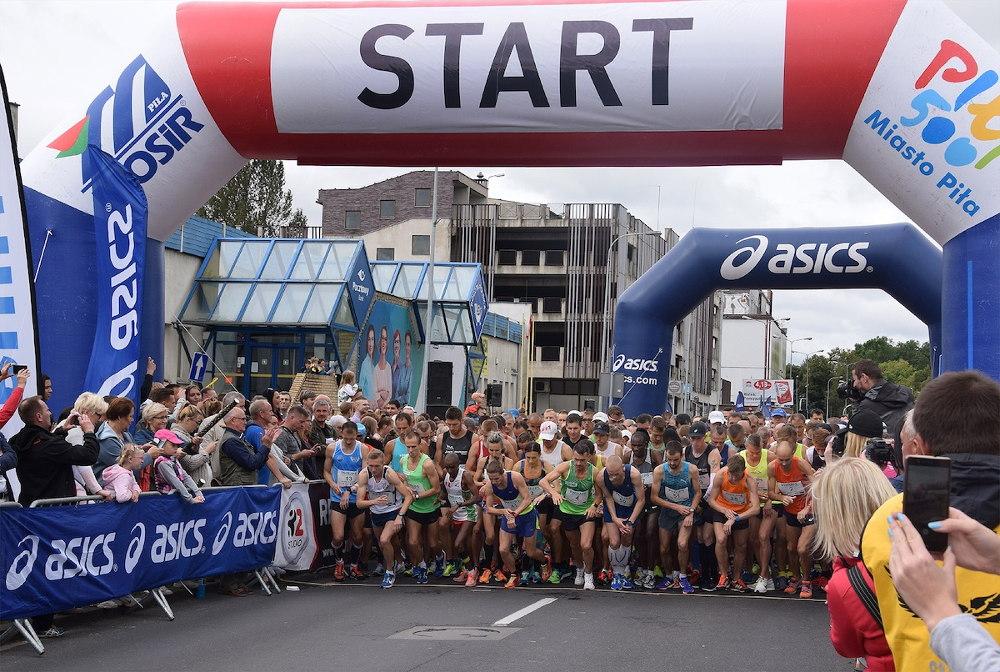 W niedzielę Półmaraton Piła 2019 trasa biegu