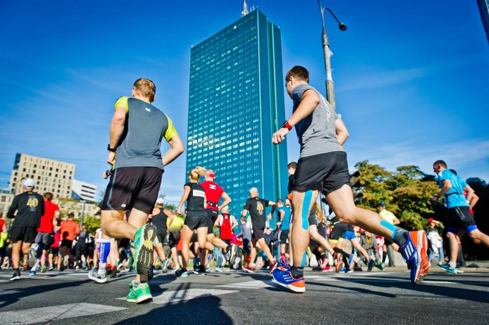 PZU Maraton Warszawski trasa biegu