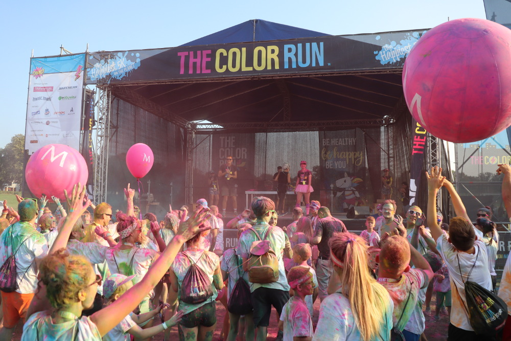 The Color Run Wrocław