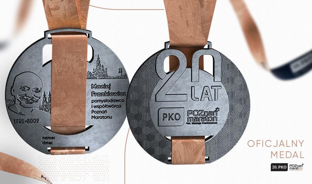 20. PKO Poznań Maraton medal