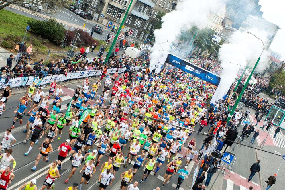 20. PKO Poznań Maraton trasa i utrudnienia