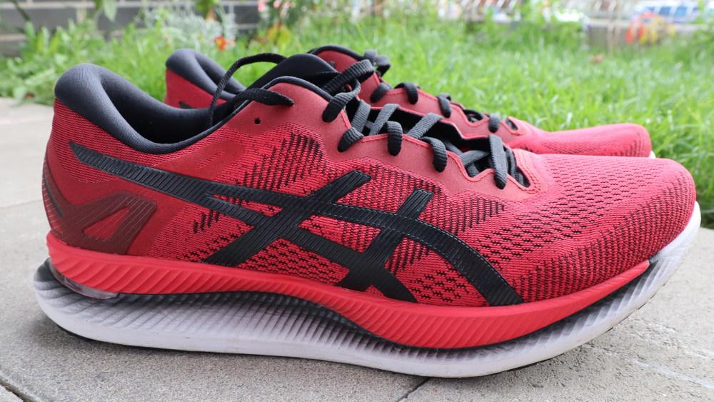 ASICS GLIDERIDE test butów
